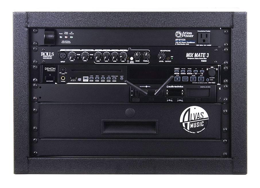Alvas music dance studio sound system