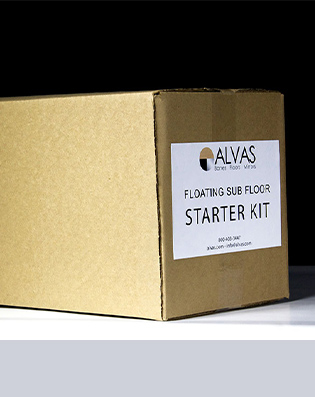 Alvas Floating Subfloor - slide 1