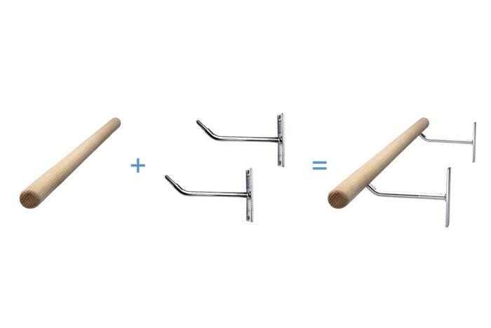 Alvas Ballet Barre Kits - Single Barre