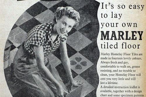 Marley Vintage Ad