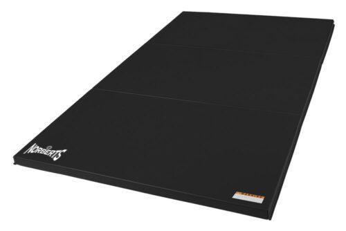 Norberts Gym Mat Standard 4′ x 6′ - Black