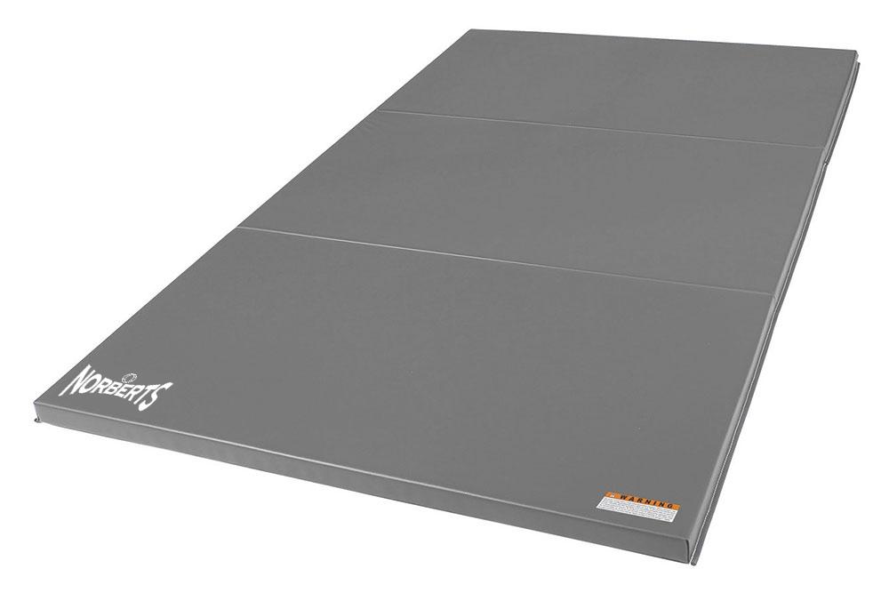 Norberts Gym Mat Standard 4′ x 6′ - Gray