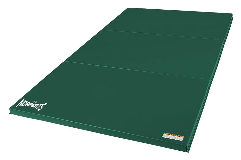 Norberts Gym Mat Standard 4′ x 6′ - Green