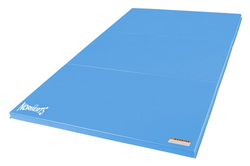 Norberts Gym Mat Standard 4′ x 6′ - Light Blue