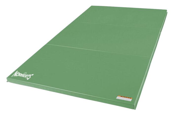 Norberts Gym Mat Standard 4′ x 6′ - Bright Green