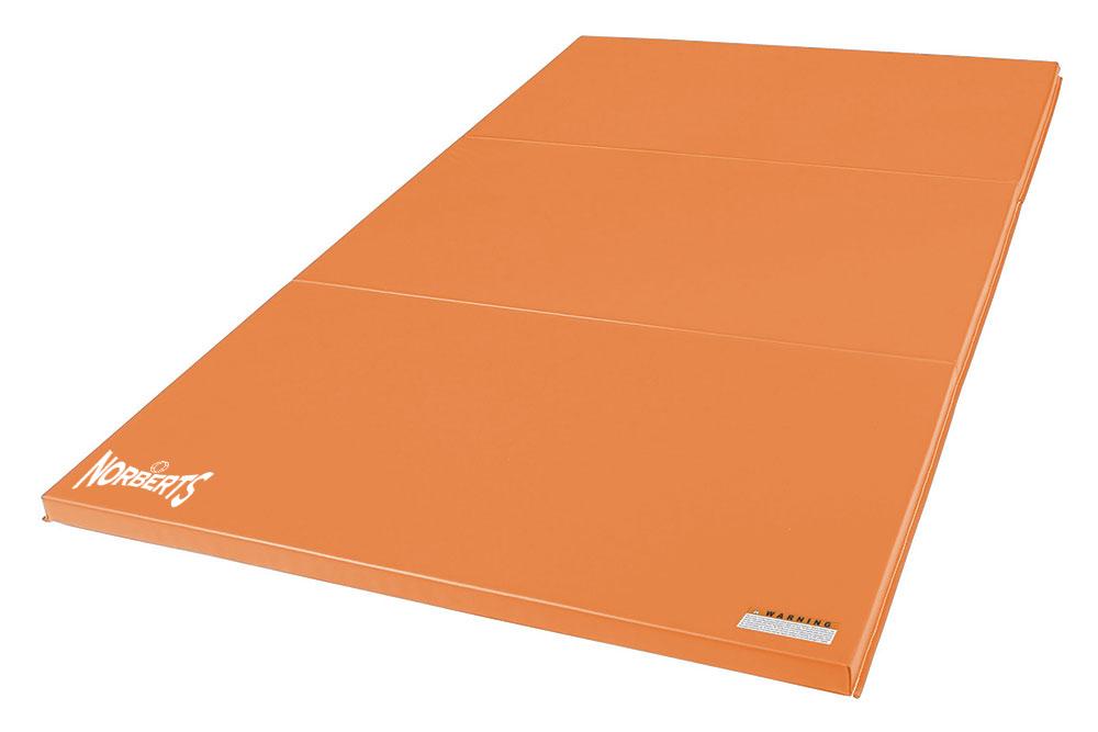 Norberts Gym Mat Standard 4′ x 6′ - Orange