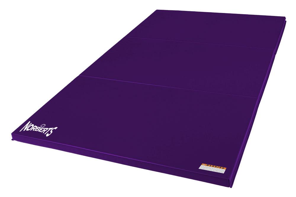 Norberts Gym Mat Standard 4′ x 6′ - Purple