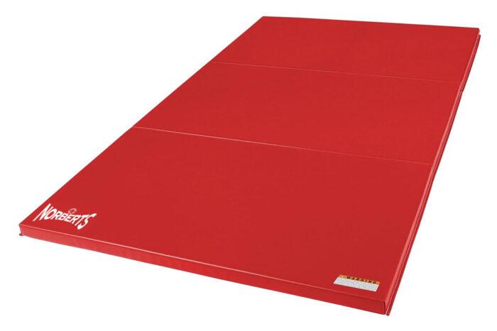 Norberts Gym Mat Standard 4′ x 6′ - Red