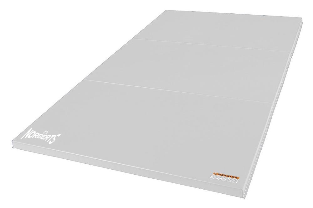 Norberts Gym Mat Standard 4′ x 6′ - White