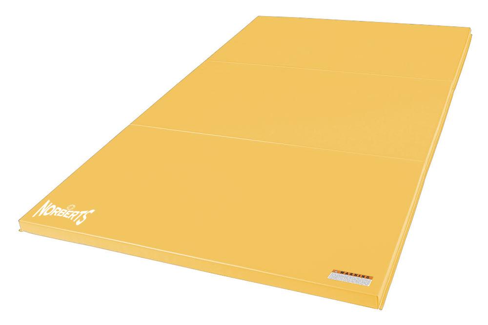 Norberts Gym Mat Standard 4′ x 6′ - Yellow