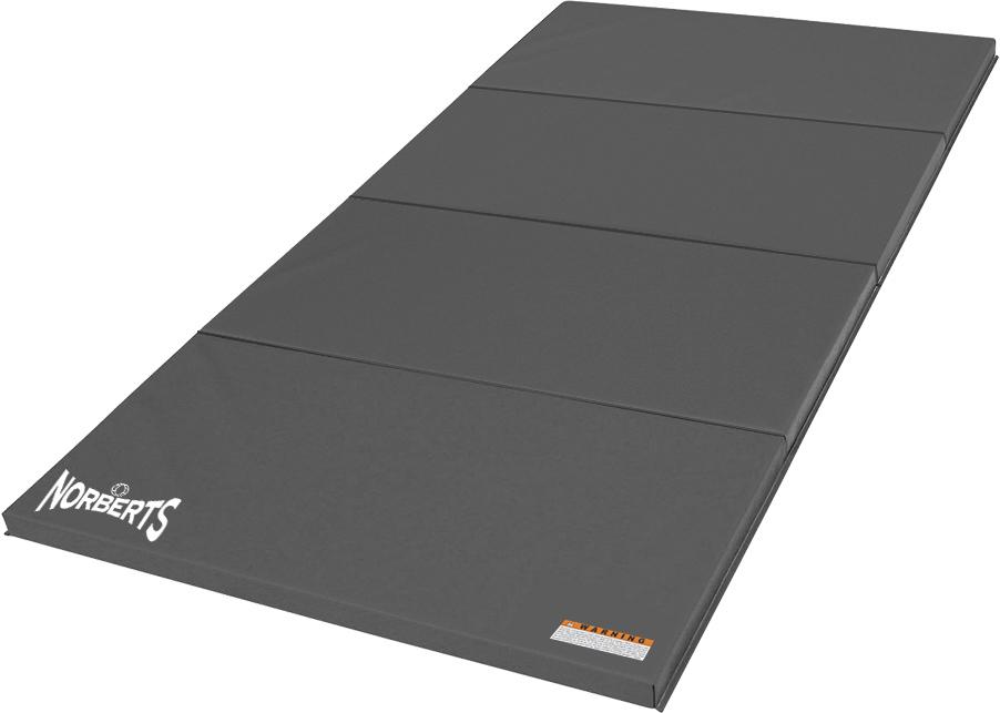 Norberts Gym Mat Standard 4' x 8' - Gray