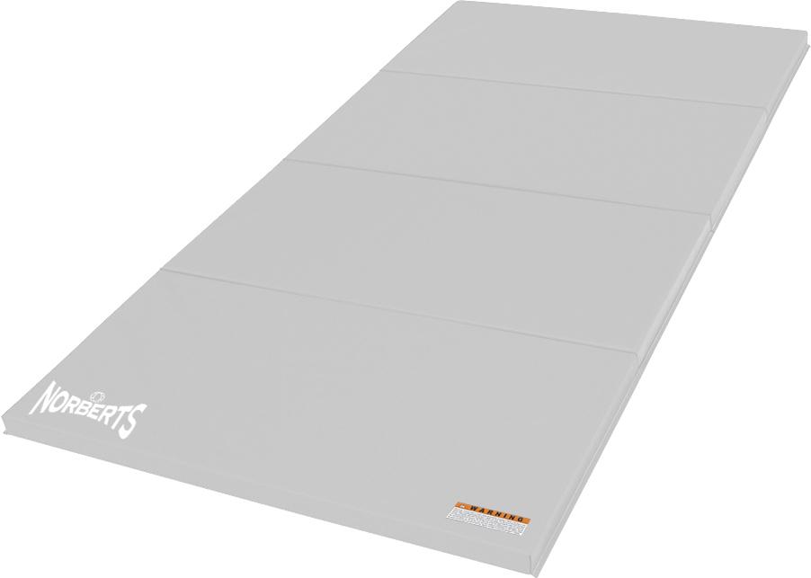 Norberts Gym Mat Standard 4' x 8' - White