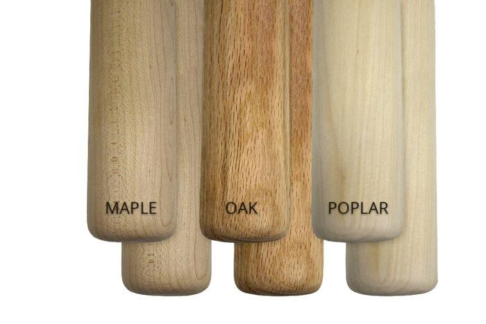 Alvas Barres in Maple, Oak and Poplar - 2 pack