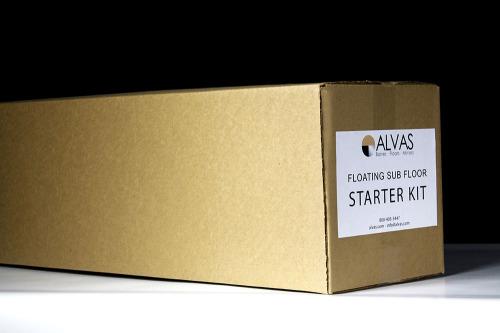 Floating Subfloor Starter Kit